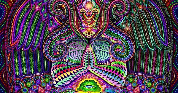 Le Dieu Source par SalviaDroid  ayahuasca  Pinterest