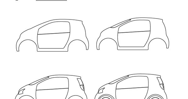 how to draw a car | learn how to draw a small car with ...