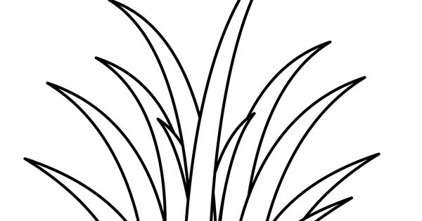 coloring grass coloring pages