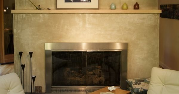 Image Result For Spanish Style Large White Stucco Fireplace Stucco Finish Around Fireplace | Fireplace Ideas