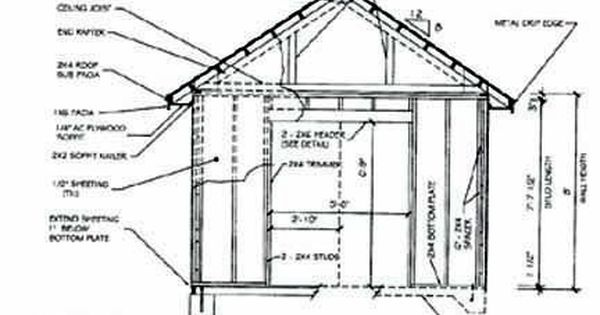 Shed Plans Shed plans See and print this 10 X 8 free