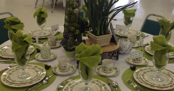 Tea Party Table Lovely Spring Tea Table Setting