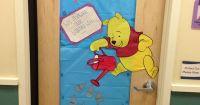 Classroom Winnie the Pooh door. | Pooh Kindergarten ...