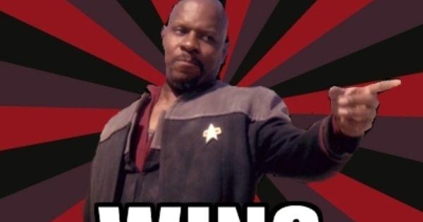 Captain Benjamin Sisko Meme Meme My Daily Deep Space Nine Notes BAMFs Pinterest The O
