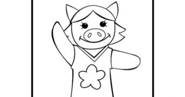 Patty Coloring Page