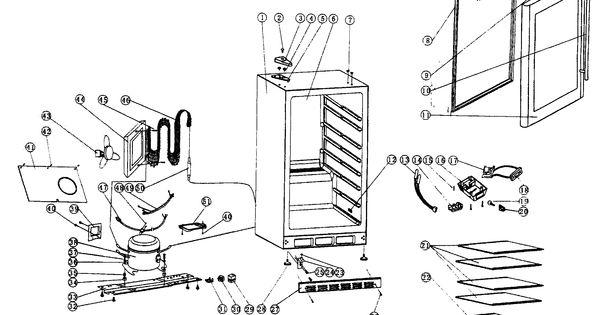 CABINET PARTS Diagram Amp Parts List For Model MCBC58DST