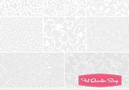 White Out Essential 5 Karat Mini-Gems Wilmington Prints