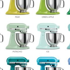 Copper Kitchen Aid Mixer Design Cheap The Colorful World Of Kitchenaid® Stand Mixers | An ...
