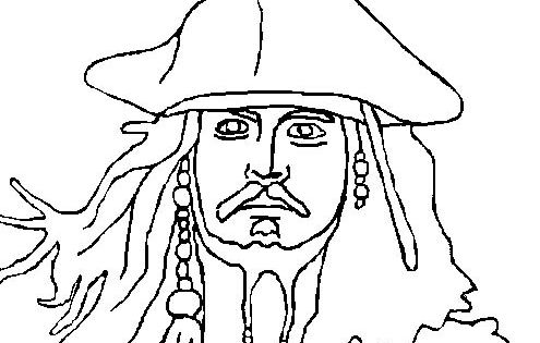 Pictures Face Jack Sparrow Pirates Of The Caribbean