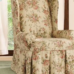 Recliner Chair Covers Green Slipcovers Target Bridgewater Floral, Waverly™ By Sure Fit Wing Slipcover | For The Home Pinterest ...
