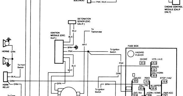 [DOWNLOAD] 1986 Chevrolet K10 Wiring Diagram HD Quality