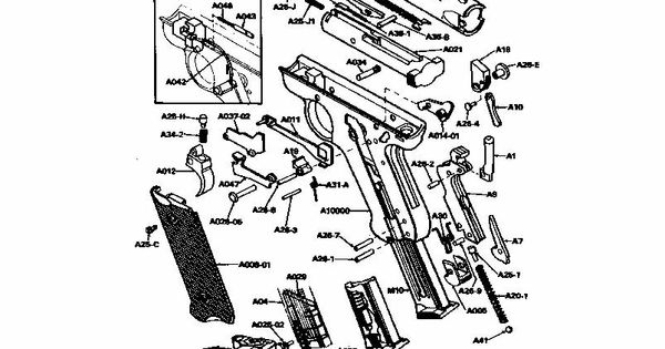 Ruger Mark Lll Disassembly Assembly
