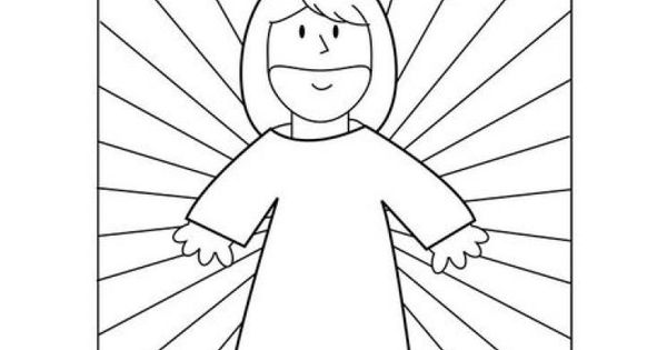 Jesus Is My Superhero Coloring Pagesprintable Colouring