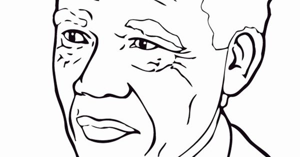 Nelson Mandela Coloring Book Coloring Pages