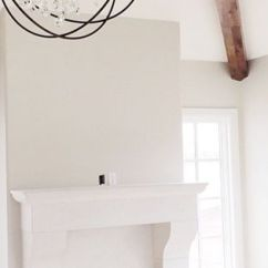 Light Grey Walls White Trim Living Room Decorating Your On A Budget Dove And Ashwood For Walls, Both By Benjamin ...