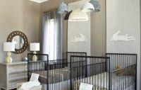 Finnian's Moon Interiors - nurseries - twin nursery, twin ...