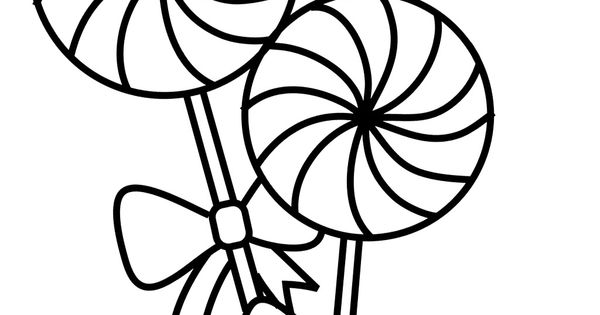 Coloring Pages Of Cake Awesome Lollipop Coloring Page