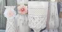 shabby chic burlap crafts | Burlap and Lace Pink Shabby ...