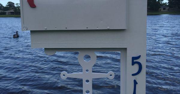 ANCHOR Mailbox Large Decorative Bracket Nautical by SimplyBurtons  home decor  Pinterest