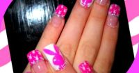 Playboy Bunny by DanijellaDavis - Nail Art Gallery ...