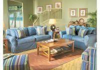 Cindy Crawford Home Beachside Denim 7 Pc Livingroom ...
