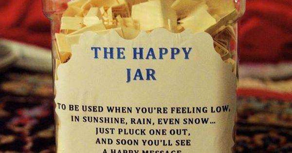 The Happy Jar Words Quotes Encouragement Phrases And