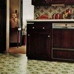 Vinyl Kitchen Flooring Towel Racks Get Down With These Groovy Floors From The '70s ...