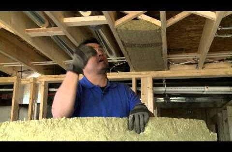 Easy doityourself video for keeping noise and unwanted sound from traveling between floors and