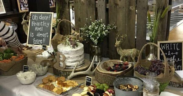 Oh Deer baby shower so cute  Brantley Abel  Pinterest
