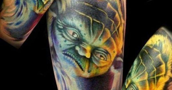 Jon Leathers  Electric Chair Tattoo  Flint MI  Tattoos