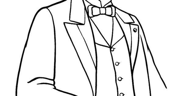 U S President Rutherford Hayes Coloring Page