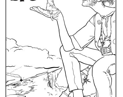 Free Disney's The BFG coloring pages, activities, and more