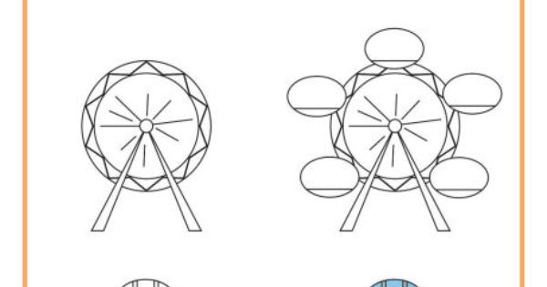 Learn to draw the London Eye/Millennium Wheel from