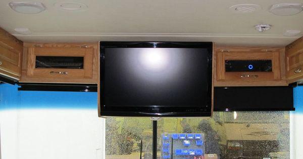 TV Cabinets Conversions  RV Furniture  Bus conversion