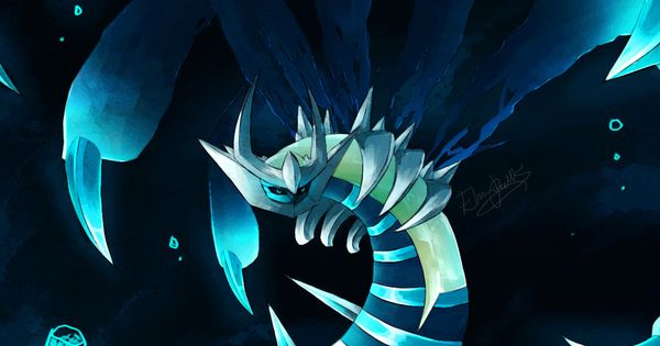 Dynamic Anime Wallpaper Shiny Giratina By Drawerelma Deviantart Com Games