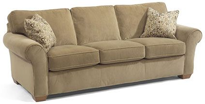 leather furniture ideas for living rooms wall decorating room flexsteel furniture: vail sofa (7305-31) this is a great ...