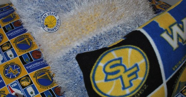 Golden State Warriors Bedroom Pillows  Jakes Golden