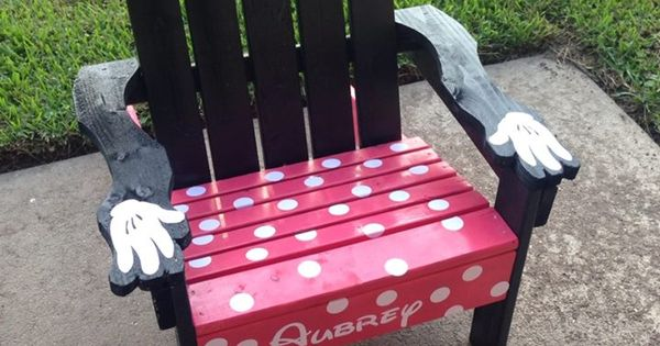 adirondack chair diy ana white how to slipcover a minnie mouse | do it yourself home projects from pinterest ...