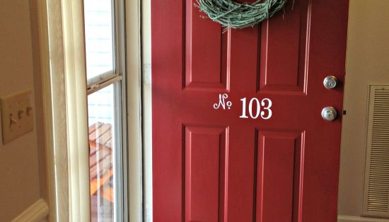 Red Front Door Paint Color Posh Red Valspar For The