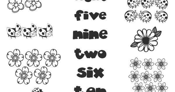 Los números en inglés #learn #numbers http://www.edufichas