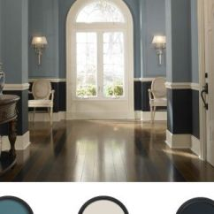 Navy Blue Dining Chair Covers For Decoration Behr Paint, Waterscape Is Light Of The Blues. Classic Entry | Paint Colors Pinterest ...