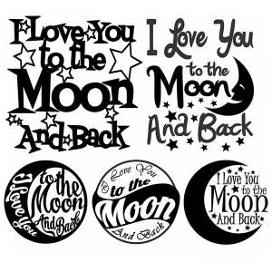 Download I love you to the moon and back - Quote Svg Cuttable ...