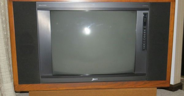 Zenith System 3 Console Color TV With Remote Zenith