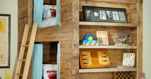 Idee bedstee stapelbed  Kids Room  Pinterest