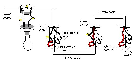 3 Way Switch Wiring Diagram For Amp Standby