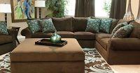 Mor Furniture Wonka Chocolate Sectional Living Room | For ...