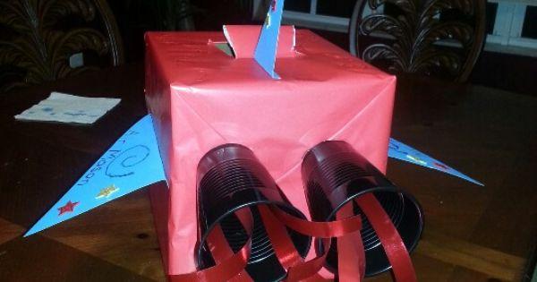Rocket Ship Valentines Box Valentines Day Pinterest
