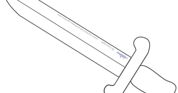 Swords, Templates and Knight on Pinterest