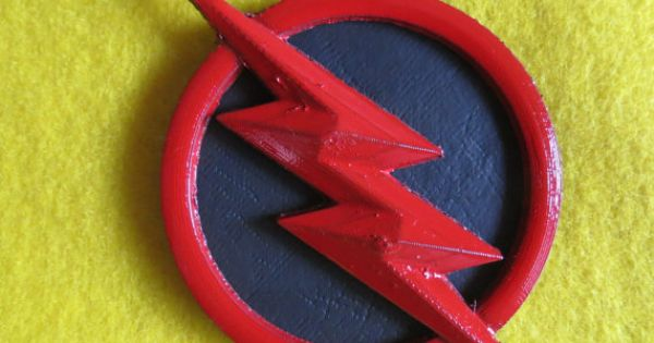 Fullsized Reverse Flash costume 3D printed lightning bolt insignia  Reverse flash and Flash
