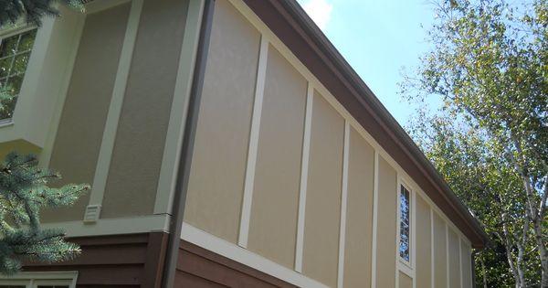 James Hardie Stucco Panels  Siding  Pinterest  James hardie Exterior remodel and Andersen